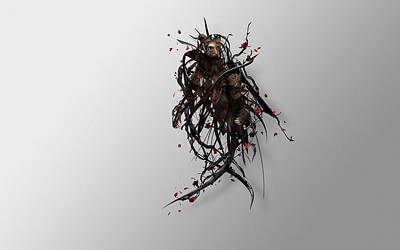Flower Digital Art - Artistic by Maye Loeser