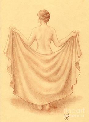 Artistic Nude I Art Print