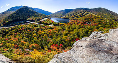 Photograph - Artists Bluff, Franconia Notch by Robert Clifford