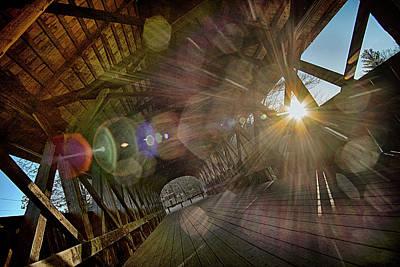 Photograph - Artists' Bridge 2 by Patrick Groleau
