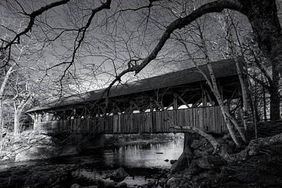 Digital Art - Artist's Bridge by Patrick Groleau