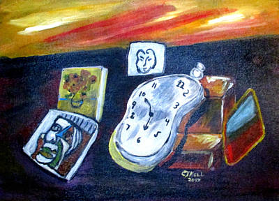 Painting - Artists Dream by Clyde J Kell