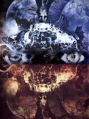 Mixed Media - Artist's Vision by Al Matra