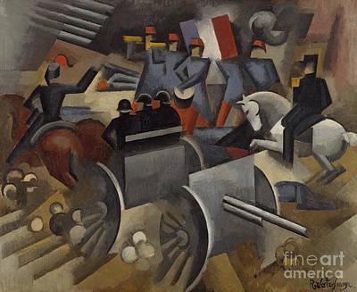 Painting - Artlillery, 1911 by Roger de La Fresnaye