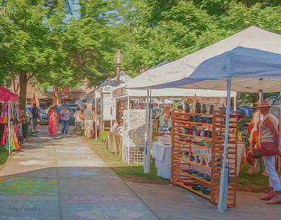 Photograph - Arts On The Square by Trey Foerster