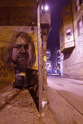 Artsy Alley Art Print by Sven Brogren