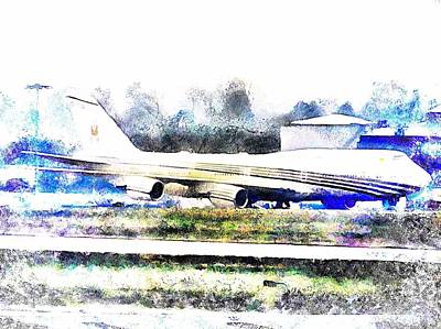 Photograph - Arty Farty Aircraft by Dorothy Berry-Lound