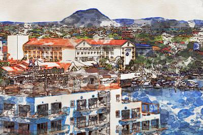 Photograph - Aruba Abstract by Alice Gipson