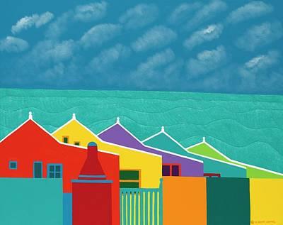 Painting - Aruba Fantasy  by Synthia SAINT JAMES