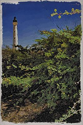 Photograph - Aruba Lighthouse by Alice Gipson