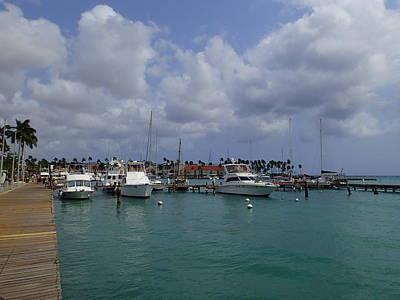 Photograph - Aruba Marina by Lois Lepisto