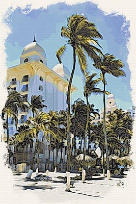Photograph - Aruba Palms Two by Alice Gipson