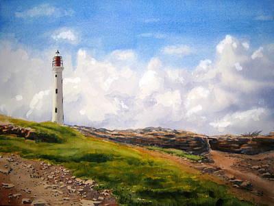 Aruba Painting - Aruba Sentry by Shirley Braithwaite Hunt