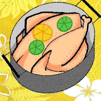 Cookbook Digital Art - Aruban Citrus Chicken by James Temple