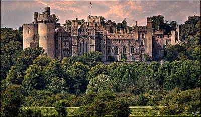 Arundel Castle Photograph - Arundel Castle by Chris Lord