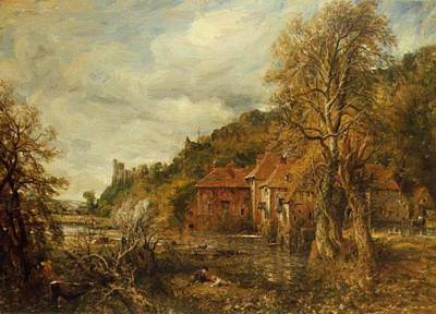 Painting - Arundel Mill And Castle 1837 by Constable John