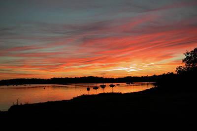 Photograph - Arzal Sunset by Ian Thompson