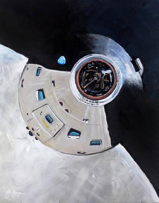 As-503 Apollo 8 Art Print by Simon Kregar