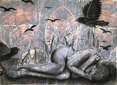 As A Crow Original by Kirsten Vidis