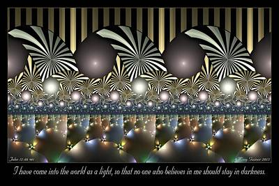 Digital Art - As A Light by Missy Gainer