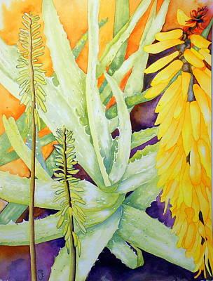 As Good As Gold Texas Aloe Art Print