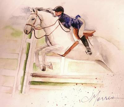 Horse Painting - As Good As It Gets by Jill Morris