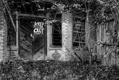 Doorway Photograph - As If You Had To Tell Me by Randy Walton
