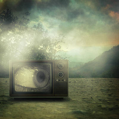 As Seen On Tv Art Print by Taylan Apukovska