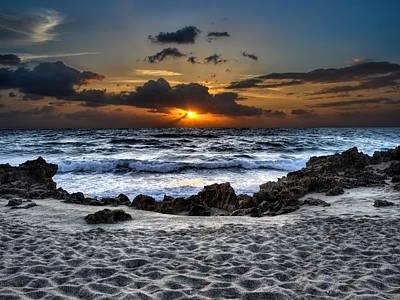 South Hutchinson Island Photograph - As The Day Washed Ashore by Chrystyne Novack