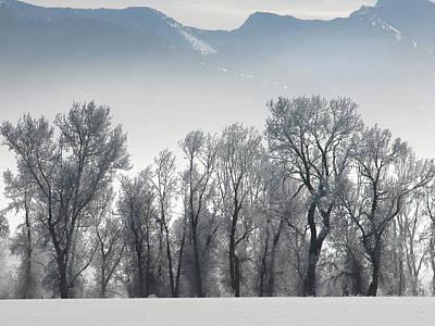 Photograph - As The Fog Lifts by DeeLon Merritt