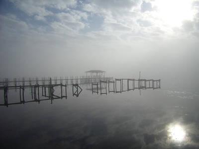 As The Fog Lifts Art Print by Nicole I Hamilton