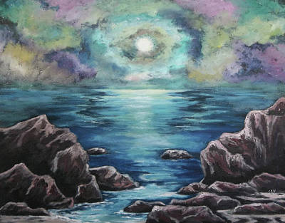 Painting - As The Spirit Moves by Cheryl Pettigrew