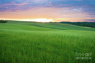 Photograph - As The Sun Goes Down In Tuscany by IPics Photography