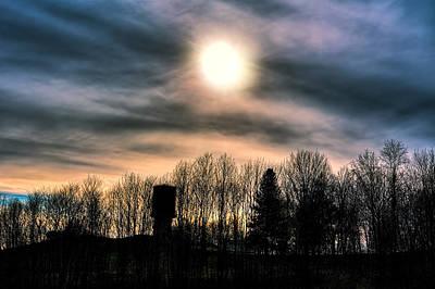 As The Sun Goes Down Art Print by Scott Bryan