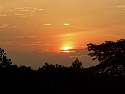 Exploramum Photograph - As The Sun Sets ... Orange by Exploramum Exploramum