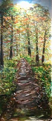 Painting - As Warm As It Gets by Belinda Low