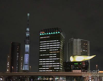 Photograph - Asakusa Skyline, Tokyo Japan by Perry Rodriguez