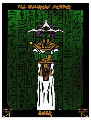 Osiris Mixed Media - Asar by Derrick Colter