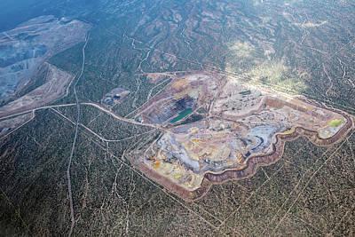 Photograph - Asarco Mission Mine by Dan McManus
