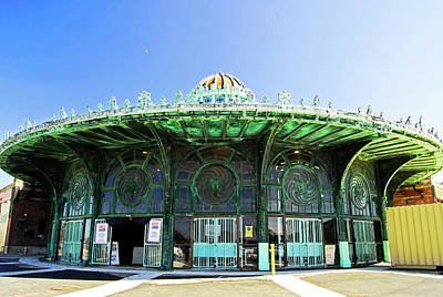 Photograph - Asbury Park Carousel House by Elsa Marie Santoro