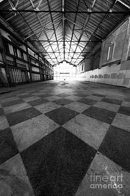 Photograph - Asbury Park Casino Angles by John Rizzuto