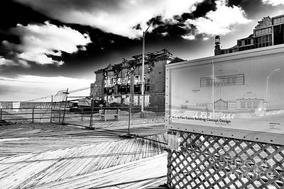 Photograph - Asbury Park Casino Building Concept Design 2006 by John Rizzuto