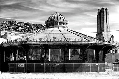 Photograph - Asbury Park Casino Carousel House 2007 by John Rizzuto