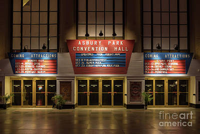 Renovation Digital Art - Asbury Park Convention Hall by Jerry Fornarotto