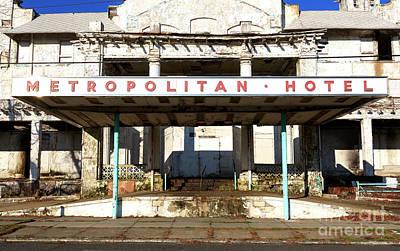 Photograph - Asbury Park Metropolitan Hotel by John Rizzuto