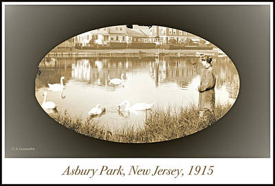 Photograph - Asbury Park, New Jersey, 1915 by A Gurmankin