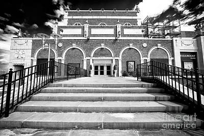 Photograph - Asbury Park Paramount by John Rizzuto