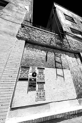 Photograph - Asbury Park Shadows by John Rizzuto
