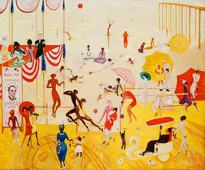 Asbury Park Painting - Asbury Park South by Florine Stettheimer