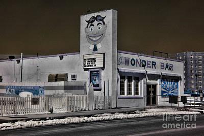 Asbury Park The Wonder Bar In Infared 1 Art Print by Paul Ward